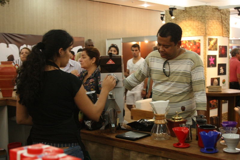 Terroa Cafes Especiais no Salon du Chocolat Bahia 2012 - 7