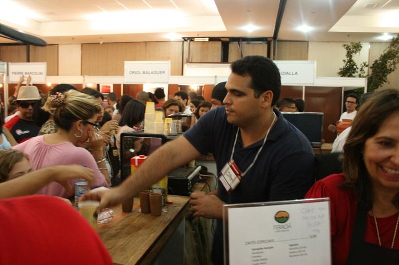 Terroa Cafes Especiais no Salon du Chocolat Bahia 2012 - 16